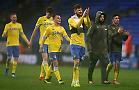 Leeds United's Mateusz Klich applauds the fans at the final whistle <br /> <br /> Photographer Stephen White/CameraSport<br /> <br /> The EFL Sky Bet Championship - Bolton Wanderers v Leeds United - Saturday 15th December 2018 - University of Bolton Stadium - Bolton<br /> <br /> World Copyright &copy; 2018 CameraSport. All rights reserved. 43 Linden Ave. Countesthorpe. Leicester. England. LE8 5PG - Tel: +44 (0) 116 277 4147 - admin@camerasport.com - www.camerasport.com