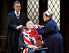 Forty Years On <br /> by Alan Bennett <br /> at Festival Theatre Chichester , Great Britain <br /> press photocall <br /> 25th April 2017 <br /> <br /> Richard Wilson as Headmaster <br /> <br /> Alan Cox as Franklin <br /> <br /> <br /> Jenny Galloway as Matron <br /> <br /> <br /> <br /> <br /> <br /> <br /> Photograph by Elliott Franks <br /> Image licensed to Elliott Franks Photography Services