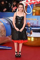 "Madeleine Harris arriving for the ""Paddington"" world premiere at the Odeon Leicester Square, London. 23/11/2014 Picture by: Steve Vas / Featureflash"