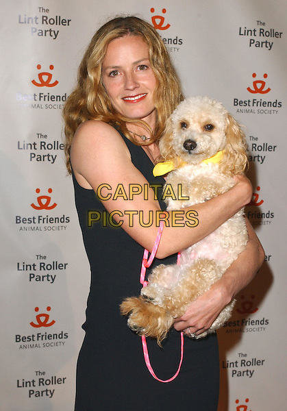 ELISABETH SHUE.Attends the 2004 Best Friends Lint Roller Party held at The Hollywood Athletic Club in Hollywood,California.April 28,2004.animal, dog, pet, half length, half-length.www.capitalpictures.com.sales@capitalpictures.com.Supplied By Capital PIctures