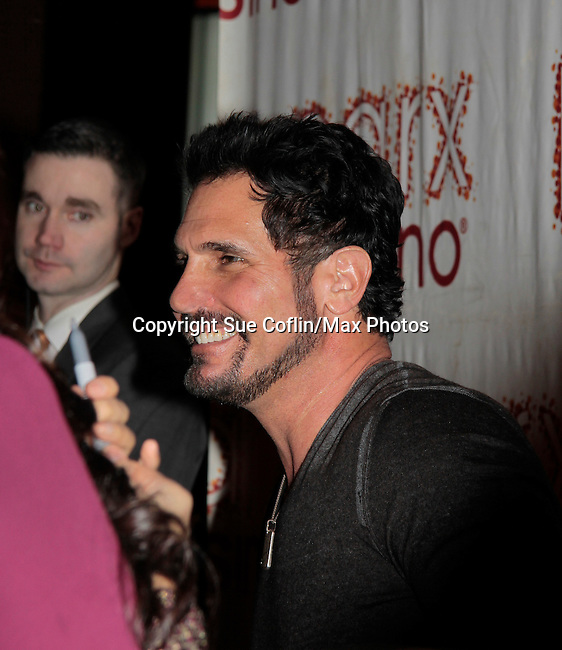 "Don Diamont ""Bill Spencer"" hosts The Bold and The Beautiful viewing party of the 7000 episode at Parx Casino, Bensalem, Pennsylvania for fans at meet and greet, photos and all viewed the 7000 episode. (Photo by Sue Coflin/Max Photos)"