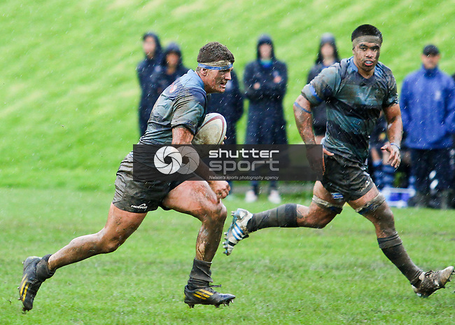Nelson College v Roncalli College, Press Cup, 24 May 2014, Nelson, New Zealand<br /> Photo: Marc Palmano/shuttersport.co.nz
