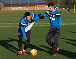 James Tavernier and Jason Holt