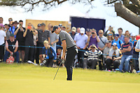 Rory McIlroy (NIR) on the 5th during Round 1 of the Aberdeen Standard Investments Scottish Open 2019 at The Renaissance Club, North Berwick, Scotland on Thursday 11th July 2019.<br /> Picture:  Thos Caffrey / Golffile<br /> <br /> All photos usage must carry mandatory copyright credit (© Golffile | Thos Caffrey)