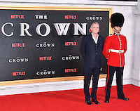 Stephen Daldry<br /> Premiere of The Crown, a new Netflix TV series about the reign of Queen Elizabeth II, at Odeon Leicester Square, London, England November 01, 2016.<br /> CAP/JOR<br /> &copy;JOR/Capital Pictures /MediaPunch ***NORTH AND SOUTH AMERICAS ONLY***