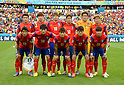 South Korea team group line-up (KOR),<br /> JUNE 22, 2014 - Football / Soccer :<br /> South Korea team group shot (Top row - L to R) Yun Suk-Young, Kim Young-Gwon, Ki Sung-Yueng, Park Chu-Young, Jung Sung-Ryong, Son Heung-Min, (Bottom row - L to R) Koo Ja-Cheol, Han Kook-Young, Lee Yong, Lee Chung-Yong and Hong Jeong-Ho before the FIFA World Cup Brazil 2014 Group H match between South Korea 2-4 Algeria at Estadio Beira-Rio in Porto Alegre, Brazil. (Photo by SONG Seak-In/AFLO)