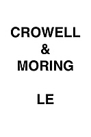 Crowell & Moring Le