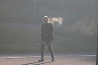 CURITIBA, PR, 04.06.2014 - CLIMA TEMPO / CURITIBA -  Vista do Parque Parigui com forte neblina, em Curitiba na manha desta quarta-feira (4) , segundo a Simepar Curitiba teve mínima de 2,6 no inicio da manhã, a menor temperatura já registrada no ano. (Foto: Paulo Lisboa / Brazil Photo Press)