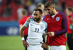 England's Nathan Redmond looks on dejected after losing on penalties during the UEFA Under 21 Semi Final at the Stadion Miejski Tychy in Tychy. Picture date 27th June 2017. Picture credit should read: David Klein/Sportimage