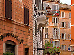 another favorite 'window photo' of Rome with nearly every building in a different tone of 'orange'