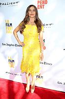 "17 June 2017 - Culver City, California - Sofia Vergara. ""The Female Brain"" Premiere during the 2017 Los Angeles Film Festival. Photo Credit: F. Sadou/AdMedia"