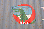 Crocodile Sign On Truck