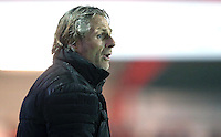 Wycombe Wanderers manager Gareth Ainsworth <br /> during the Sky Bet League 2 match between Accrington Stanley and Wycombe Wanderers at the wham stadium, Accrington, England on 28 February 2017. Photo by Tony  KIPAX.