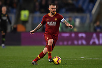 Daniele De Rossi of AS Roma in action during the Serie A 2018/2019 football match between AS Roma and AC Milan at stadio Olimpico, Roma, February 3, 2019 <br />  Foto Andrea Staccioli / Insidefoto