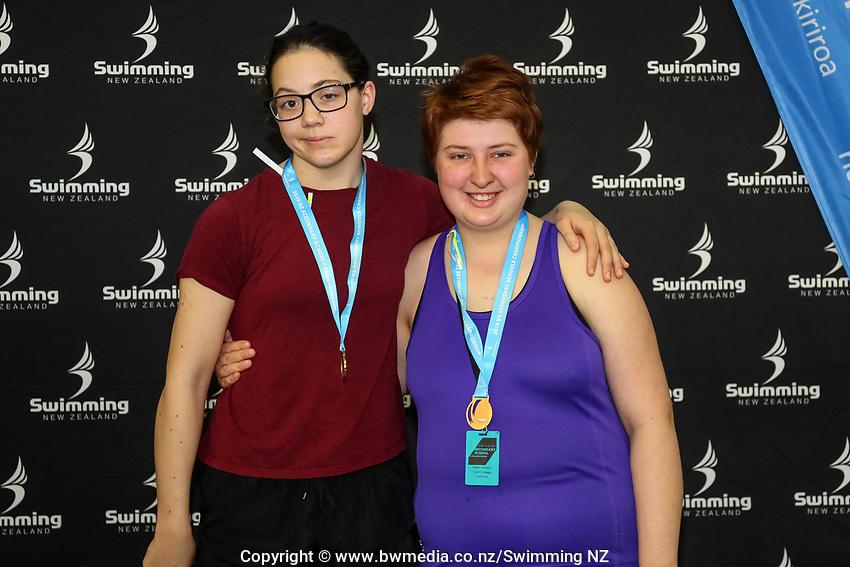 New Zealand Secondary Swimming Championships, Water World, Hamilton, Saturday 14 September 2019. Photo: Simon Watts/www.bwmedia.co.nz/SwimmingNZ