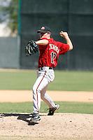 Kevin Eichhorn - Arizona Diamondbacks 2009 Instructional League .Photo by:  Bill Mitchell/Four Seam Images..