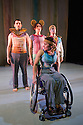 London, UK. 13.05.2014. StopGap Dance Company present ARTIFICIAL THINGS as part of the =dance strand in the Lilian Baylis Studio, at Sadler's Wells. Picture shows: Laura Jones (front), David Willdridge, Amy Butler and Chris Pavia. Photograph © Jane Hobson.