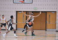 Stevenson men's club basketball hosted Towson at the Greenspring Campus.