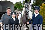 David Bostin, Callie Barnes and Bernie Bostin Killarney at the Kerry Foxhounds hunt in Kilcummin on Sunday