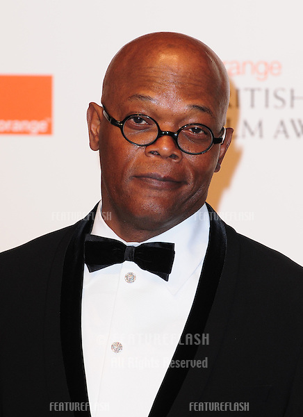 Samuel L Jackson in the press room for the BAFTA Film Awards 2011 at the Royal Opera House Covent Garden, London. 13/02/2011  Picture by: Simon Burchell / Featureflash