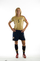 Lindsay Tarpley. U.S. Women's National Team portrait photoshoot. June 8, 2007 in Carson, CA.