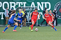 Portland, OR - Saturday May 06, 2017: Christine Sinclair during a regular season National Women's Soccer League (NWSL) match between the Portland Thorns FC and the Chicago Red Stars at Providence Park.