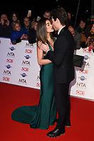 Joey Essex & Lorena Medina<br /> arriving for the National TV Awards 2020 at the O2 Arena, London.<br /> <br /> ©Ash Knotek  D3550 28/01/2020