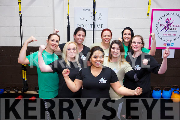 Pro Fitness Tralee members have  lost 10 stone between them in six weeks. Pictured Members  Adrienne Heaslip, Sandra O'Sullivan, Shaleena Gill,Nicole Rusk, Pamela Ryan, Sarah Mcloughlin, Liza Barrett, Selena Griffin,
