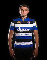 Zach Mercer poses for a portrait at a Bath Rugby photocall. Bath Rugby Photocall on November 22, 2016 at Farleigh House in Bath, England. Photo by: Rogan Thomson / JMP / Onside Images