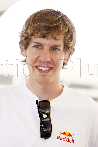 11 03 2010 Copyright Actionplus/Andreas Suppl. Sebastian Vettel Paddock. F1, Manama, Bahrain, Sakhir Circuit, Formula 1, GP  Photo : Imago/Actionplus. Editorial Use UK.