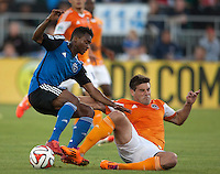 San Jose Earthquakes vs Houston Dynamo, Sunday, May 25, 2014