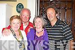 Maureen Somers, Sean O'Donoghue, Teresa Irwin and John O'Sullivan at the Killarney Rotary club afternoon fashion show in the Malton Hotel Killarney on Saturday.