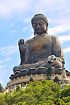 Tian Tan Buddha - the world's tallest outdoor seated bronze Buddha located in Hong Kong.