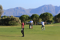 Ross McGowan (ENG) on the 15th fairway during Round 3 of the Challenge Tour Grand Final 2019 at Club de Golf Alcanada, Port d'Alcúdia, Mallorca, Spain on Saturday 9th November 2019.<br /> Picture:  Thos Caffrey / Golffile<br /> <br /> All photo usage must carry mandatory copyright credit (© Golffile | Thos Caffrey)