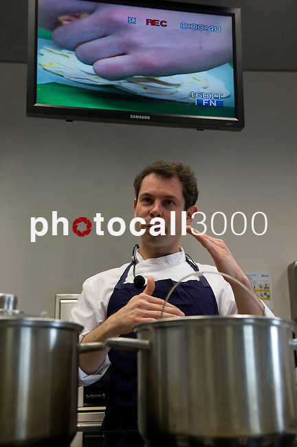 Pascal Barbot del Restaurante Astrance (Paris) imparte una Master Class en el Basque Culinary Center - Pascal Barbot's Restaurant Astrance (Paris) teaches a Master Class on the Basque Culinary Center