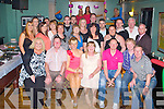BIRTHDAY GIRL: Tanya O'Regan, Ballyinorig Close, Tralee (seated 3th left) enjoying a great time celebrating her 30th birthday with family and friends at Dowdies bar, Tralee on Saturday.