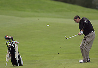 20 May, 2010:  Loyola Universities Jay Mulieri chips his ball on the green on hole nine of the NCAA Division I Regionals tournament Thursday at Gold Mountain Golf Course in Bremerton, WA.