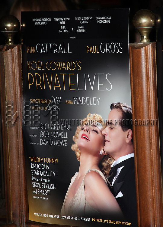 the Opening Night Performance after party for 'Private Lives' at Bond 45 in New York City on 11/17/2011.