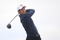 Jeremy Freiburghaus of Team Switzerland on the 10th tee during Round 4 of the WATC 2018 - Eisenhower Trophy at Carton House, Maynooth, Co. Kildare on Saturday 8th September 2018.<br /> Picture:  Thos Caffrey / www.golffile.ie<br /> <br /> All photo usage must carry mandatory copyright credit (© Golffile | Thos Caffrey)