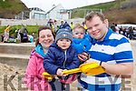 Conor, Siobhan, Jake and Lee Hartnett from Abbeyfeale enjoying the fresh air in Ballybunion at the annual Connie Hartnett Memorial swim on New Years Day.