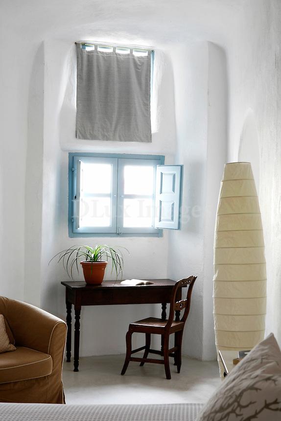 traditional cycladic bedroom