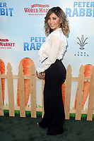 LOS ANGELES, CA - FEBRUARY 03: Joanna Zanella at the premiere of Columbia Pictures' 'Peter Rabbit' at The Grove on February 3, 2018 in Los Angeles, California. <br /> CAP/MPI/DE<br /> &copy;DE//MPI/Capital Pictures