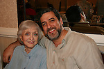 Celeste Holm (Loving) and husband Frank Basile at 4th Annual Mid-Atlantic Nostalgia Convention in Aberdeen, Maryland. (Photo by Sue Coflin/Max Photos)