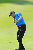 Michael Hoey (NIR) on the 10th fairway during Round 3 of the Maybank Malaysian Open at the Kuala Lumpur Golf & Country Club on Saturday 7th February 2015.<br /> Picture:  Thos Caffrey / www.golffile.ie