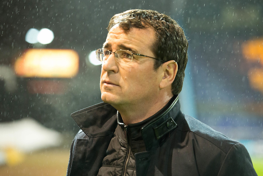 Gary Bowyer Manager of Blackpool<br /> <br /> Photographer James Williamson/CameraSport<br /> <br /> The EFL Sky Bet League Two - Mansfield Town v Blackpool - Tuesday 22nd November 2016 - One Call Stadium - Mansfield<br /> <br /> World Copyright &copy; 2016 CameraSport. All rights reserved. 43 Linden Ave. Countesthorpe. Leicester. England. LE8 5PG - Tel: +44 (0) 116 277 4147 - admin@camerasport.com - www.camerasport.com