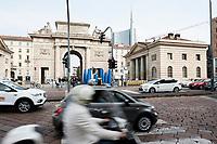 Milano, Quartiere Porta Garibaldi, Piazza XXV Aprile