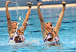 Olympic Games 2012; Synchronised Swimming - Aquatics Centre- Duets; free routine preliminary..(RUS)