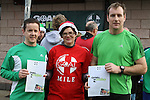 David Leach who came 2nd and Joe Kelly who came 1st at the 2011 Goal Mile in Beaulieu...(Photo credit should read Jenny Matthews www.newsfile.ie)....This Picture has been sent you under the conditions enclosed by:.Newsfile Ltd..The Studio,.Millmount Abbey,.Drogheda,.Co Meath..Ireland..Tel: +353(0)41-9871240.Fax: +353(0)41-9871260.GSM: +353(0)86-2500958.email: pictures@newsfile.ie.www.newsfile.ie.