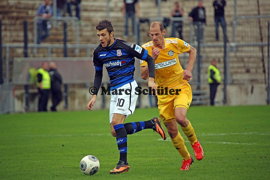 Nikita Rukavytsya (FSV) - FSV Frankfurt vs. VfR Aalen, Frankfurter Volksbank Stadion