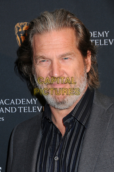 JEFF BRIDGES .17th Annual BAFTA Los Angeles Awards Season Tea Party held at the Four Seasons Hotel, Beverly Hills, California, USA, 15th January 2011..portrait headshot grey gray shirt beard facial hair .CAP/ADM/BP.©Byron Purvis/AdMedia/Capital Pictures.